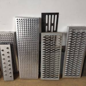 2021 High quality Grip Strut Grating - Perforated Anti slip metal gratings for deck grip strut walkway – Weijia