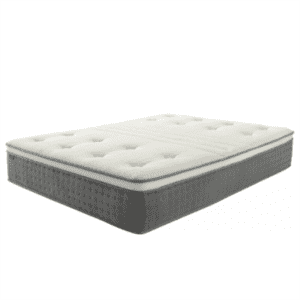 Plush Euro Top Rolling Inner Spring Mattress with CertiPUR-US Certified High Density Foam & Silk Fiber