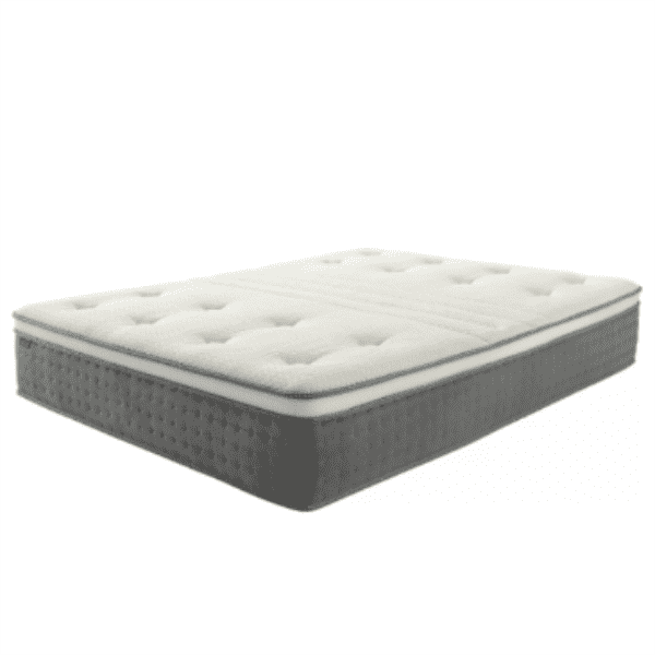 Plush Euro Top Rolling Inner Spring Mattress with CertiPUR-US Certified High Density Foam & Silk Fiber Featured Image