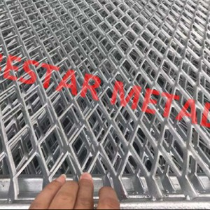 China wholesale Garbion Mesh Factory- Expanded Mesh – Bestar Metal