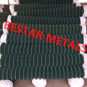 Reasonable price Galvanized Hexagonal Wire Net - Chain Link Fence – Bestar Metal
