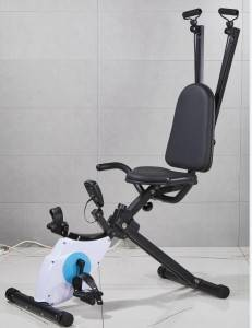 Cardio Fitness Exercise Bike with strength system