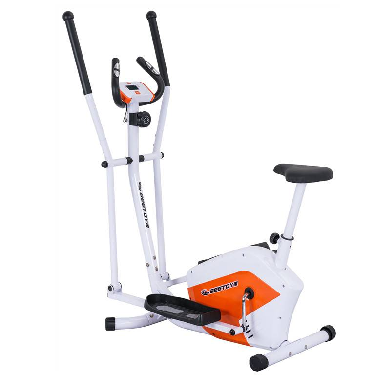 2020 professional new gym magnetic exercise bike with saddle magnetic fitness cross trainer seat ellipticals