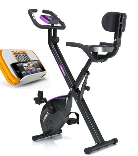 Hot sale indoor foldable multifunction magnetic exercise bike