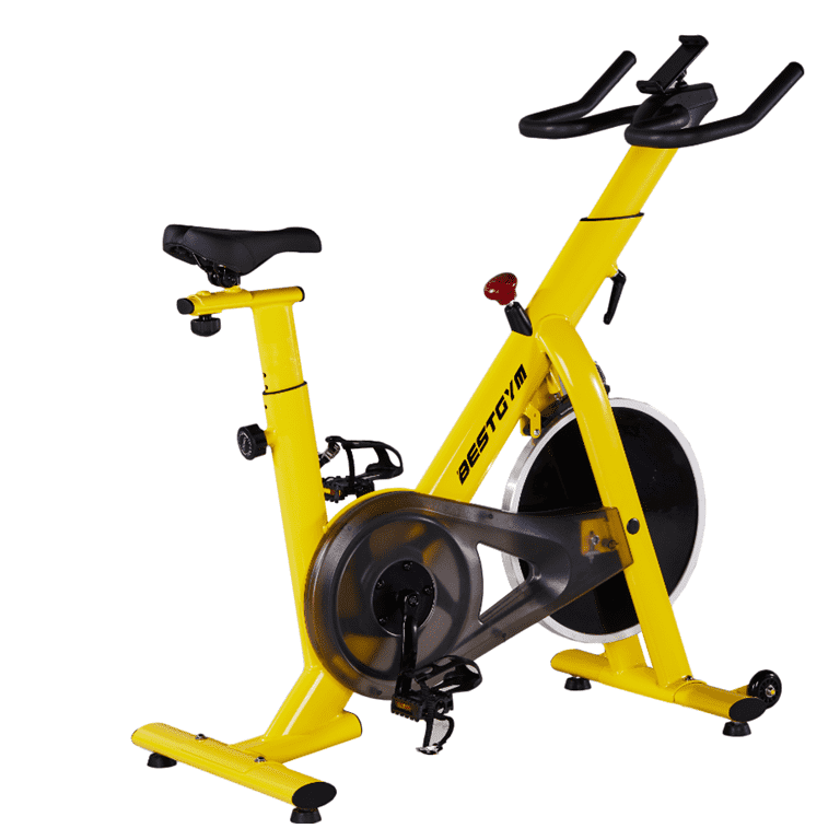 Stationary Cycling Bike  with Ipad Mount &Comf...