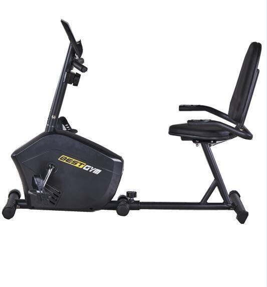 Hot Sale Home Use Magnetic Exercise Gym Trainer Exercise Bike Fitness Recumbent Bike with seat