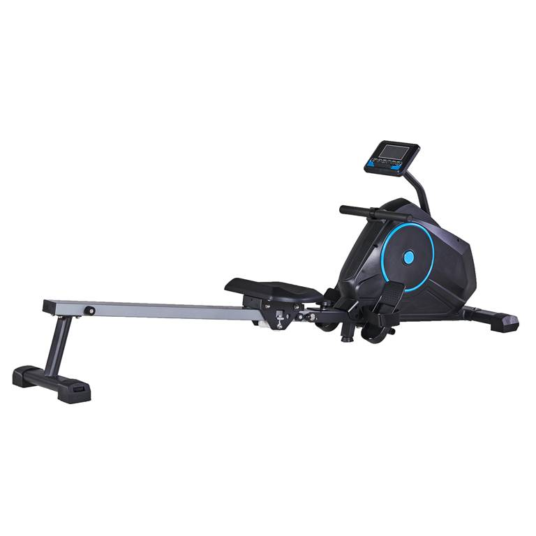 Health & Fitness Magnetic Rowing Machine Rower with LCD Monitor