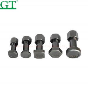 cheap excavator nut bolt size manufacturing machinery price of bolt