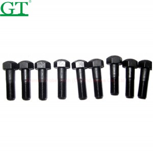 Sell high strenth track bolt and nut, Plow Bolt and Nut for Cutting Edge 4J9058/2J3507