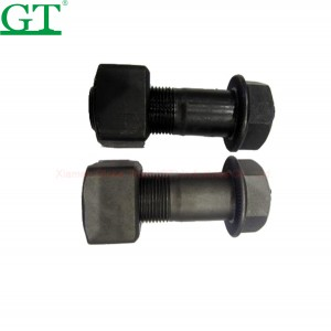 China wholesale Track Pin Press - 40Cr 12.9 grade heat treatment forging bolt for track pad – Globe Truth