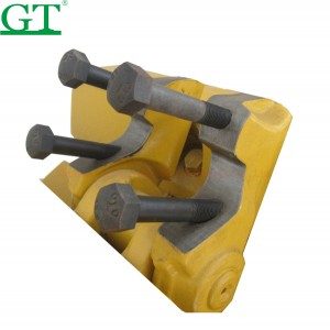 Sell bulldozers and excavators bolts nuts for track shoe segment cutting blade roller