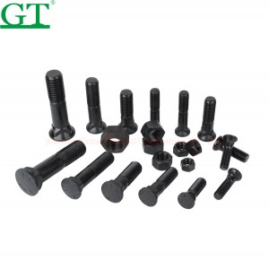 grade 8.8 to 12.9 screw and bolt, nut and bolt sizes, standard size bolt and nut
