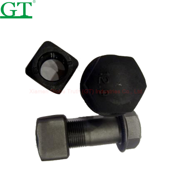 Best quality Track Link For Rubber Track - wheel bolt , 10.9-12.9 grade, material 40Cr. – Globe Truth