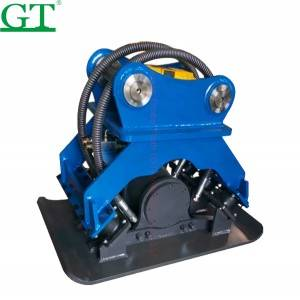 Construction excavator vibrating tamping compact rammer, vibrating plate compactor
