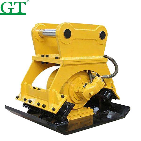 Construction excavator vibrating tamping compact rammer, vibrating plate compactor Featured Image