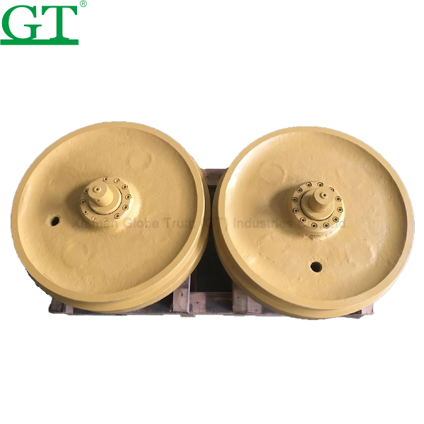 Special Price for Excavator Track Link - Idler for Case 360 Excavator parts front Idler – Globe Truth