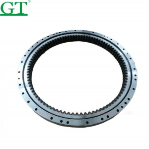 High strength steel slewing bearing for excavator Doosan DX225