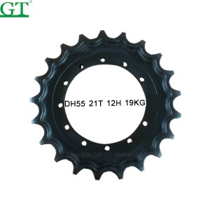 Hot Selling for Excavator Undercarriage Parts - Sell excavator dozer 325 sprocket oem no.6Y4898 sf df berco no.CR5604 – Globe Truth