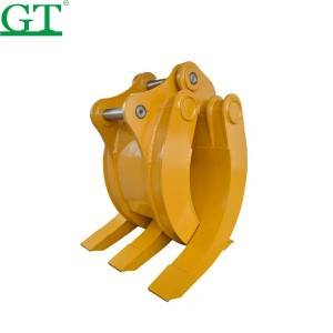Construction Machinery Excavator Parts Grab Bucket,Excavator Grapple Buckets