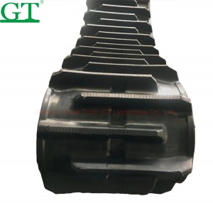 Excavator Rubber Track with size 400*725*74 for KX161