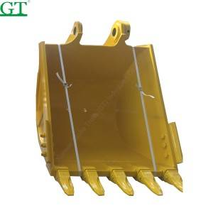 hardox 450 material bucket, high quality,rock bucket for Cat/Jcb/Hitachi/Kubota/Komats