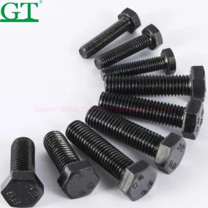 Selling High Strength Track Chain Bolt And Nut For Hitachi EX100 5
