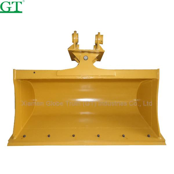 OEM/ODM China Track Adjuster Excavator - Digging Bucket standard size for HD250 with rock grab type with the rear wall like a rake – Globe Truth detail pictures