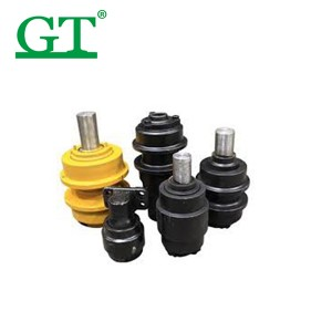 High Quality Dozer Undercarriage - upper roller Carrier rollers Bracket zx200 excavator pc200-8 in construction parts Excavator Top roller rollers – Globe Truth