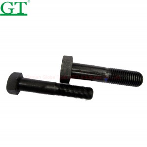 Good Wholesale Vendors Bolt On Rubber Track Pad - Excavator/Bulldozer Bolt&Nut – Globe Truth