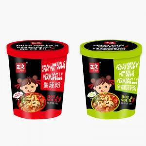 2021 New Style Spicy Korean Glass Noodles - Vegan Hot Spicy Glass Noodle – Ruisheng