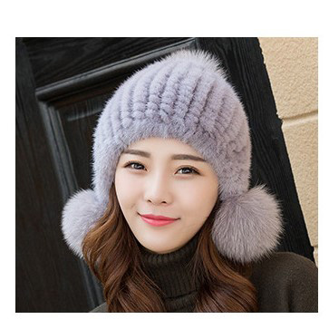 Factory Price For Windproof Jacket - Mink Hat By Hand Woven – Besttone