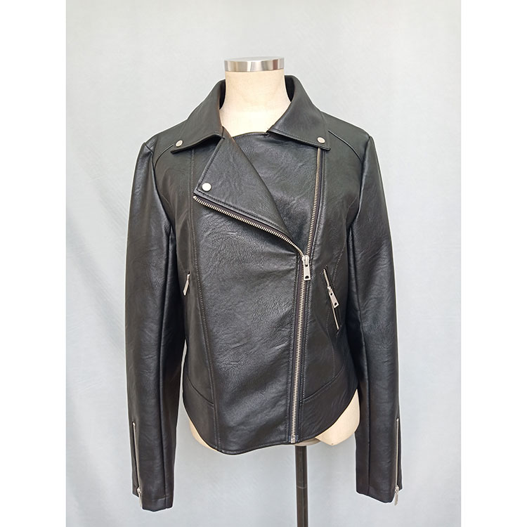 Quality Inspection for Womens Spring Dress - Ladies Biker Jacket – Besttone