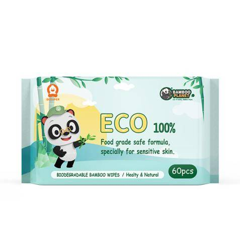 Besuper Bamboo Planet Eco Wet Wipes