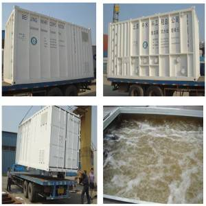 Introduction of Containerized Water Treatment Plant