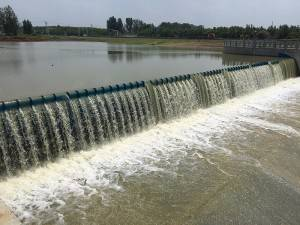 Jining Water Diversion Hydraulic Elevator Dam Project