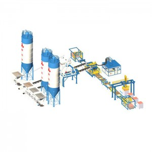 Manufacturer for Automatic Brick Machine - Straight Line Type Blocking processing Line – Shifeng