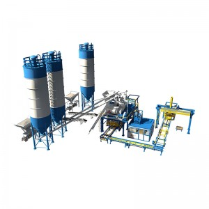 Best quality Semi Automatic Concrete Brick Making Machine - U Type Block Processing Line – Shifeng