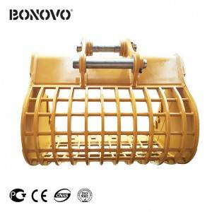 Bonovo durable skeleton screening bucket sieve bucket of all sizes