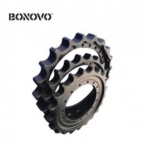 PC200/pc300 Undercarriage Part Chain Sprockets / Sprocket Rim for Excavator