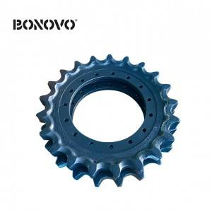 Heavy Duty Sprocket Undercarriage Parts Sprocket Wheel for IHI CCH500 Chain Sprocket Drive Wheel