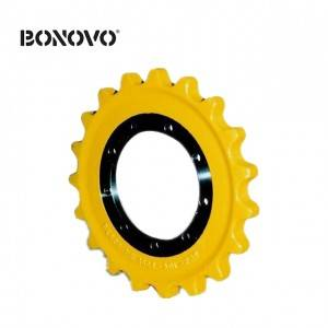 High quality D40,D50,D41 sprocket rim part excavator drive sprocket undercarriage for sale