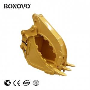 Low price for Grid Roller Compactor - GRAB BUCKET – Bonovo