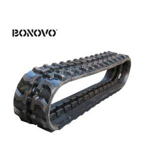 Undercarriage parts small rubber tracks lawn mower / rubber track for snowmobile