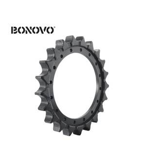 High strength SY215-8 SY215C SY215C-9 sprocket drive sprocket for excavator