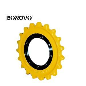 Excavator Undercarriage Parts PC600 Sprocket PC650 Drive Wheel Segment Group Drive Sprocket