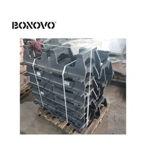 Excavator track chain track guard SH200-I SH240 SH350 for excavator undercarriage parts