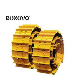 Undercarriage parts pc200 track shoe link excavator chain sk200 track chain link assembly