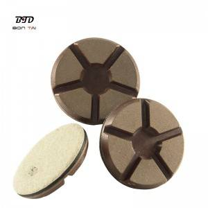 3″ Transition pad diamond copper bond polishing pads for concrete