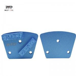 Split PCD Scraper Trapezoid Diamond Grinding Shoes
