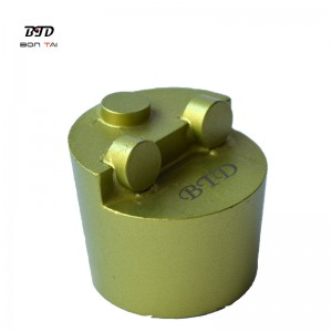 PD50 PCD Diamond Grinding Plug for Concrete Floor Coating Removal
